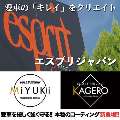エスプリジャパン株式会社-兵庫県神戸市-車の高級ガラスコーティング専門店